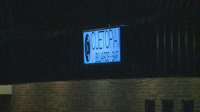 Homicide detectives are now investigating a gun battle that occurred in the parking lot of a North County bar.