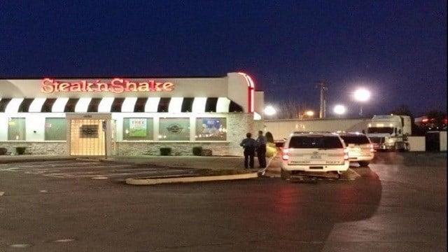 Ferguson Steak'n Shake robbed Thursday morning.