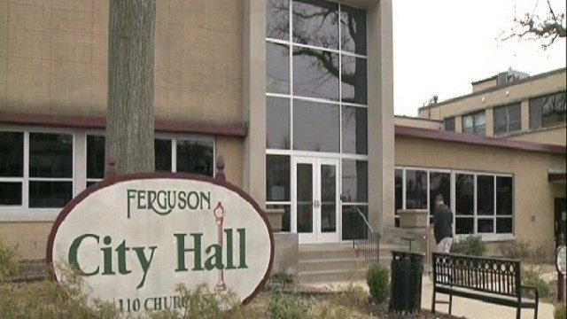 Ferguson City Hall (Credit: KMOV)