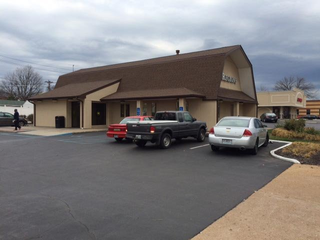 A Regions Bank in the 3540 block of Hampton was robbed Monday morning