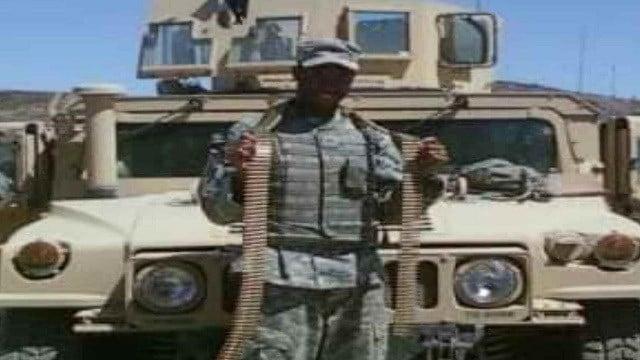 Rob Thompson, an Iraqi war veteran, had his motorcycle stolen.