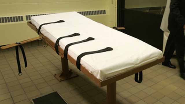 This November 2005 file photo shows the death chamber at the Southern Ohio Corrections Facility in Lucasville, Ohio. (Credit: Ap Photo / Kiichiro Sato, File)
