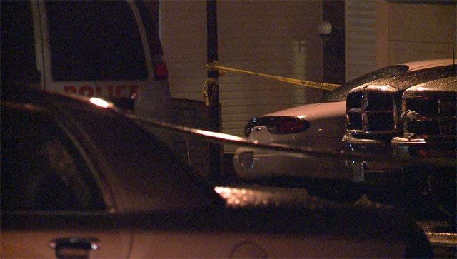 A man was found dead of a gunshot wound in the 12000 block of Sea Lane Drive