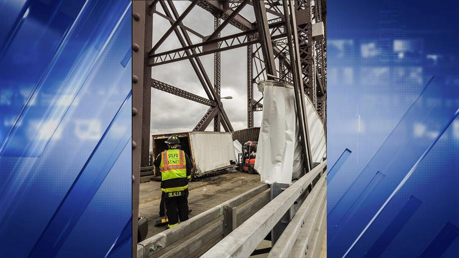 A tractor trailer accident closed the McKinley Bridge Thursday morning