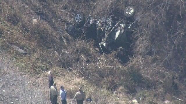 The scene of a second train crash in Illinois Thursday.