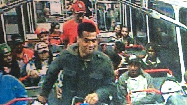 Surveillance photo of suspect in MetroLink attack