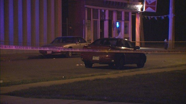 Police investigating one of three shootings that occurred in North St. Louis overnight.