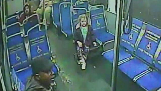 A 4-year-old girl has grabbed her purple raincoat, slipped out of her house at 3 a.m. and hopped a Philadelphia bus in search of a snack.