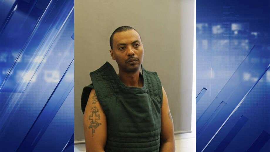 Farifax County, VA Police confirm via twitter they are searching for escaped prisoner Wossen Assaye. According to police Assaye escaped the custody of a private security guard at Farifax Hospital. Police believe Assaye is armed with a gun and still wearin