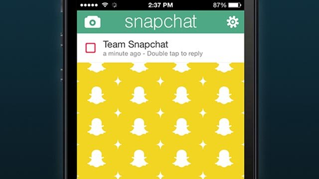 (Stewart Scott-Curran/CNN) Snapchat: With this app, users send photos and videos -- some of them racy -- that disappear within seconds.