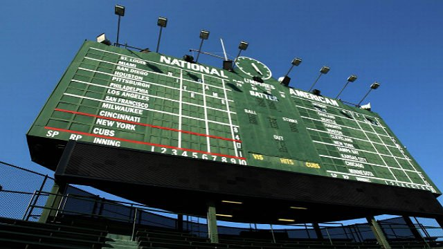 Wrigley Field. (Getty Images)