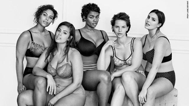 Lane Bryant's #ImNoAngel campaign celebrates body diversity. The campaign is a not-so-subtle dig at Victoria's Secret and its very popular Angels line, which caters to smaller women.