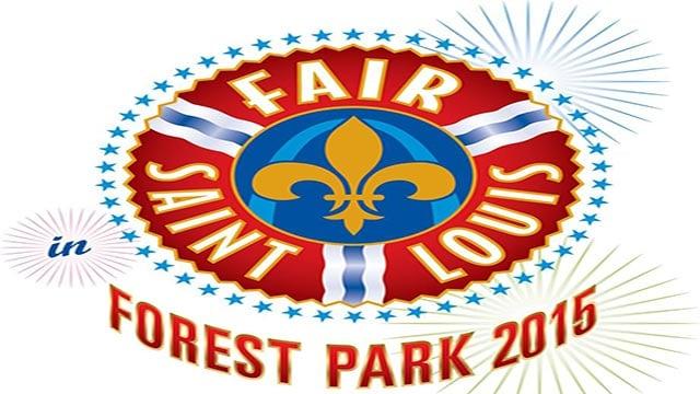 (fairsaintlouis.org) The logo for Fair Saint Louis in 2105