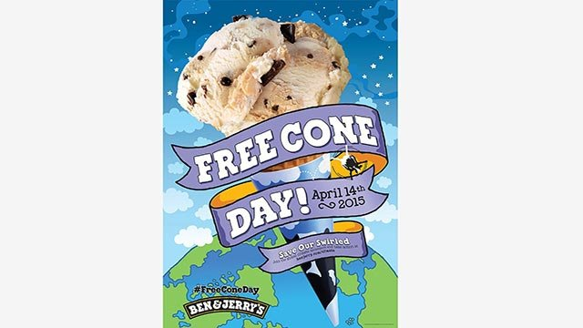 (Ben & Jerry's) If you're a fan of ice cream, and giveaways, you're in luck.