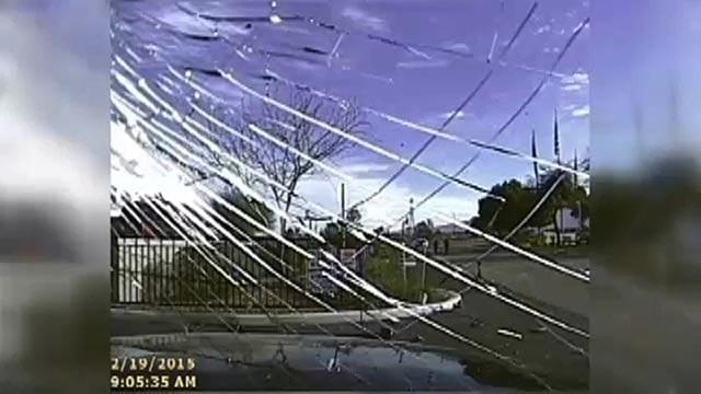 (Marana Police Department) Police in Marana, Arizona, said Tuesday, April 14, 2015, that an officer who intentionally used his car to run into Mario Valencia
