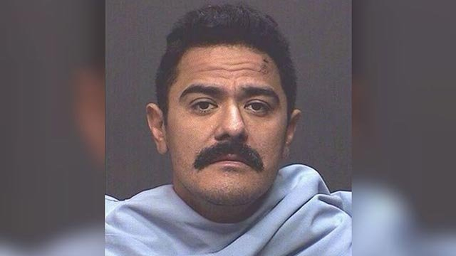 (Marana Police Department) Mario Valencia is accused of a crime spree in Arizona that ended when he was run over by police