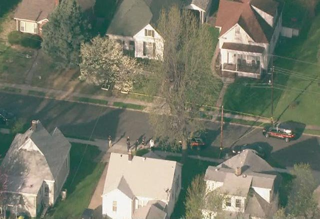 An officer and suspect were transported to a hospital after an officer-involved shooting near downtown Edwardsville Wednesday morning.