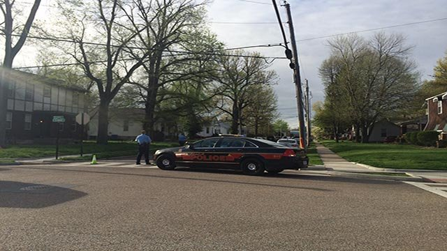 An officer and suspect were transported to a hospital after an officer-involved shooting near downtown Edwardsville