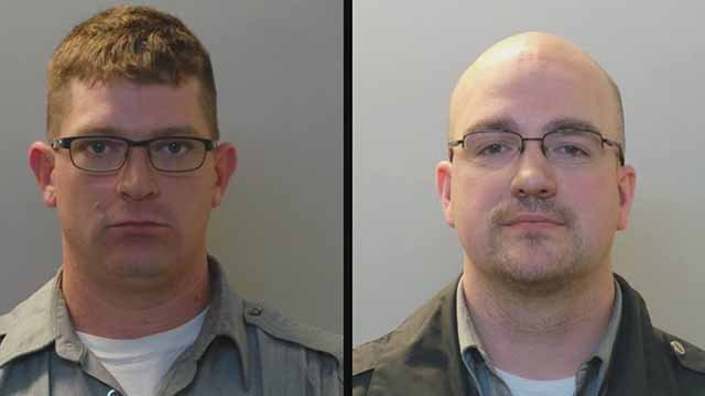 Aaron Flower and Richard Heflin are charged with felony stealing. The two allegedly stole bus fare money they were responsible for transferring from one Metro facility to another