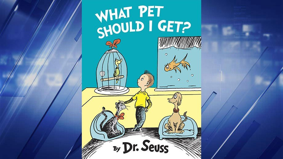 (Random House) New Dr. Seuss book, What Pet Should I Get?, to be published