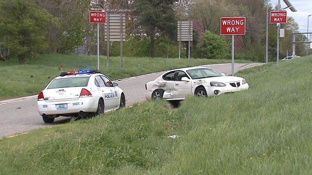 Two cars exchanged gunfire near the I-44/I-55 split on April 20.