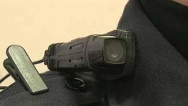 A police body camera. (Credit: KMOV)