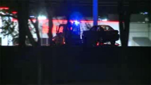 A St. Peters man was fatally struck by a vehicle on I-70 Sunday night.