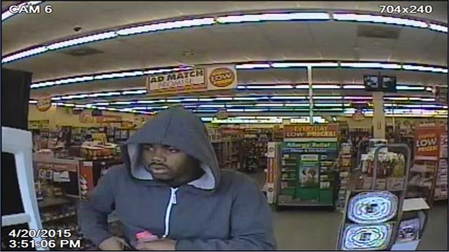 Anyone with details on the suspect is asked to contact CrimeStoppers