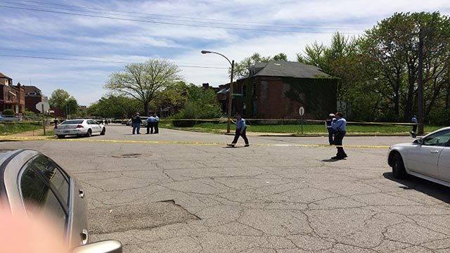 An officer-involved shooting occurred in the 5000 block of Ridge Monday