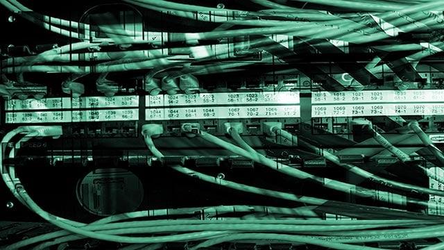 (Credit: CNNMoney/Shutterstock) An illustration depicting an Internet network hub