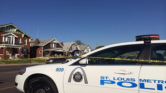 A double homicide investigation was underway Thursday in north St. Louis