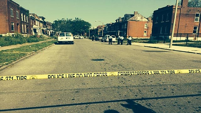 Police were also investigating a second scene one block of St. Louis Avenue on Vanderventer.