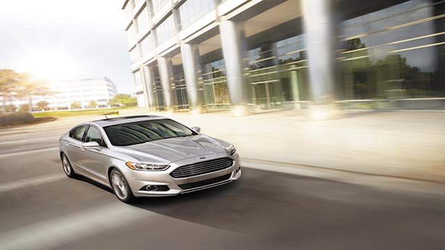 (Credit: Ford) 2014 Ford Fusion