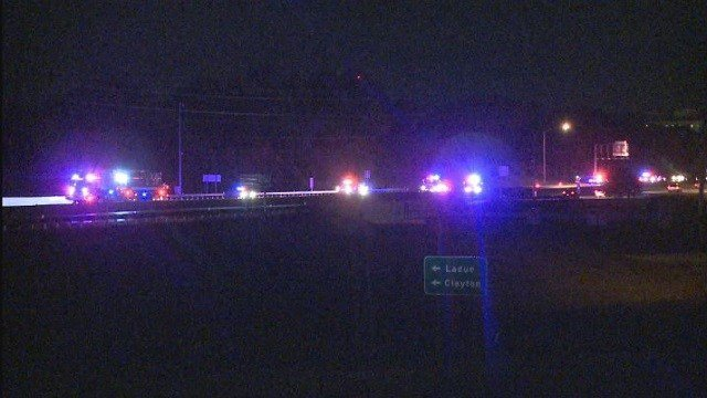 The northbound lanes of I-270 in Creve Coeur were closed after a man was fatally struck by a vehicle Friday morning.