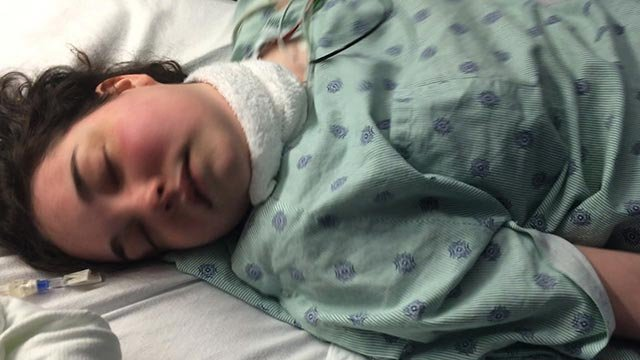 (Credit: CNN) Brynn Duncan has mast cell disease, which causes her to be allergic to almost everything. Duncan has a feeding tube and is on constant doses of