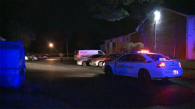 Two men and a woman were shot in the 11100 block of Suntree Drive just after 1:00 Wednesday morning.
