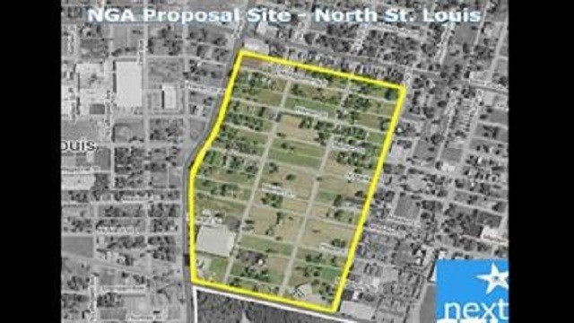 The proposed site for a new National Geospatial Agency location.