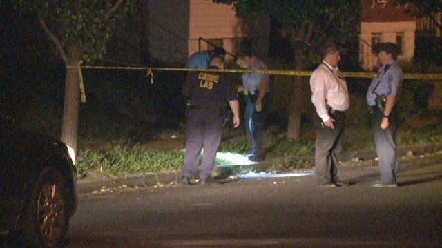 St. Louis City Police investigate a triple shooting that involved two women and a teenager.