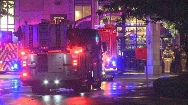 There was a small fire at The Cheesecake Factory inside The Galleria early Monday morning.