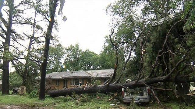 Two people were killed when a storm hit a trailer park in Nashville, Arkansas, Howard County Emergency Management coordinator Sonny Raulerson said Monday.