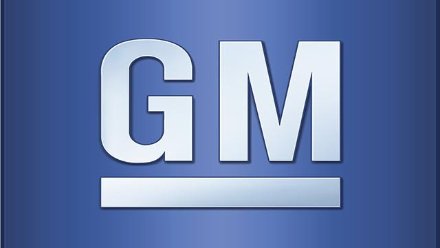 (Credit: GM) General Motors company logo.