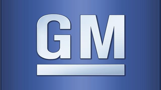 (Credit: GM) General Motors company logo.