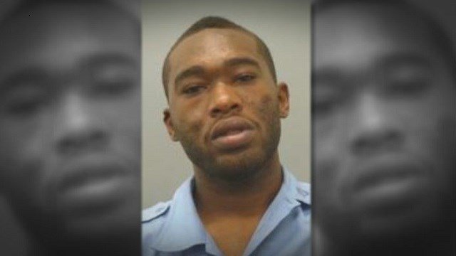 Antoine Lane, 25, is facing charges after attempting to shoot at officers, police allege.