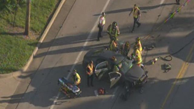 One person was killed during an accident in south St. Louis County Tuesday morning.