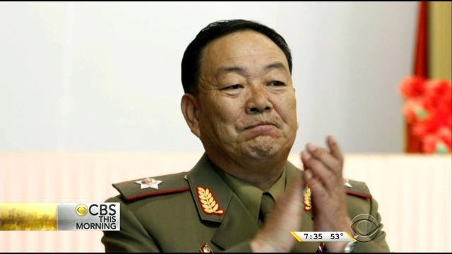 Hyon Yong Chol was killed by fire from an anti-aircraft gun at a military school in front of hundreds of people in Pyongyang.