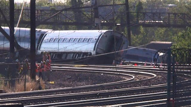 (Credit: CNN) An Amtrak train carrying 238 passengers and five crew members derailed in Philadelphia late Tuesday.