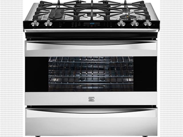 (Credit: Sears) Sears Kenmore Elite dual fuel ranges