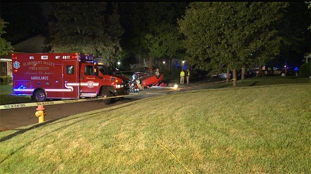 The fatal accident occurred around 1 a.m. on St. Francis Street, near New Florissant Road.