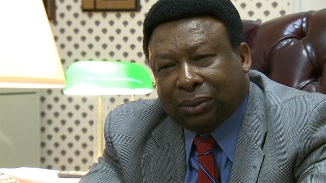Dr. Ed Hightower, superintendent of the Edwardsville School District