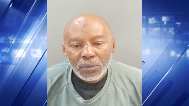 Gregory Forest, 54, faces charges for three bank robberies, resisting detention and allegedly stealing a woman's car.
